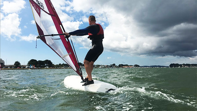 Beginners Windsurfing for Two in Poole