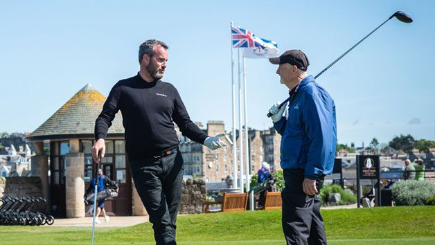 Play 18 Holes with former PGA Tour Player at St Andrews Golf Centre for One