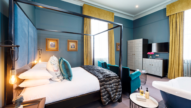 Boutique Escape with Dinner for Two at The Churchill Hotel, North Yorkshire