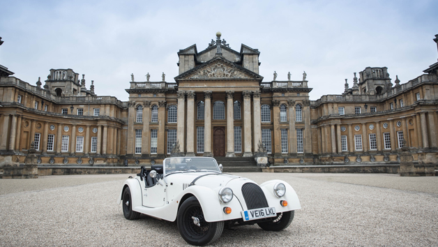 One Night Country House Stay with British Morgan Car Hire for Two in Worcester