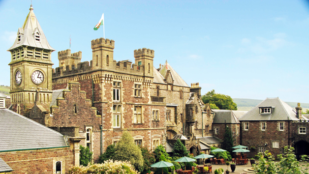 Hotel Escape with Dinner for Two at Craig-y-Nos Castle, Powys