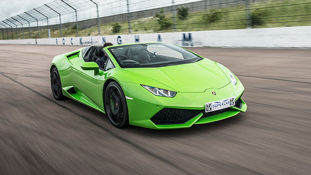 Supercar Driving Blast with Free High Speed Passenger Ride - Week Round