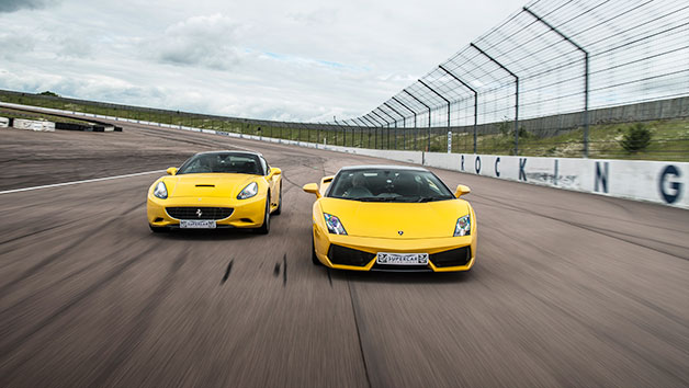 Supercar Thrill with High Speed Passenger Ride