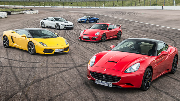 Five Supercar Driving Thrill – Week Round
