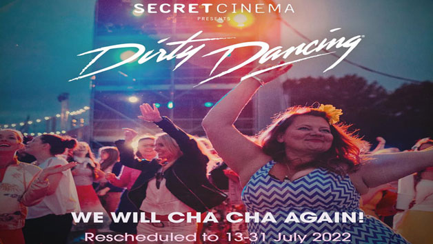 Secret Cinema Dirty Dancing Experience for Two – Thursday 14th July 2022