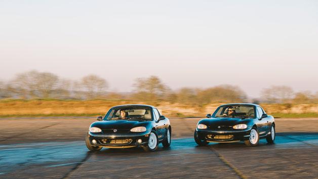 24 Lap Mazda Mx5 Drift Silver Experience in Hertfordshire
