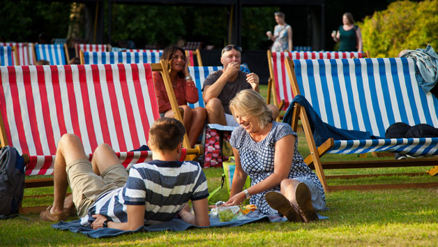 General Entry with a Deckchair for Two at Summer Screens Outdoor Cinema