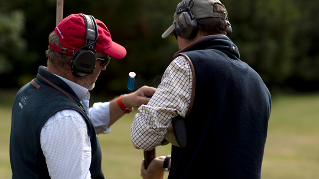 One Hour Shooting Lesson for Two with EJ Churchill, Buckinghamshire