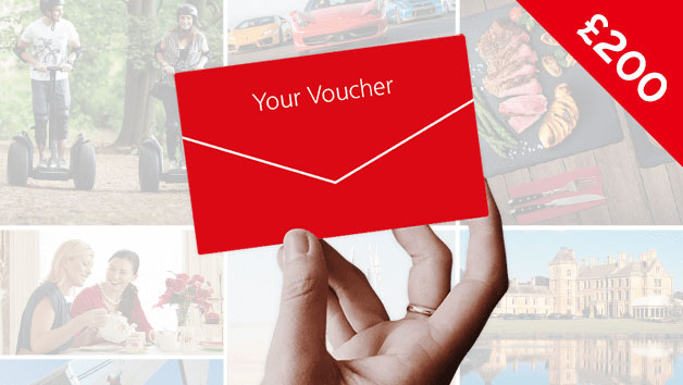 Red Letter Days £200 Gift Card