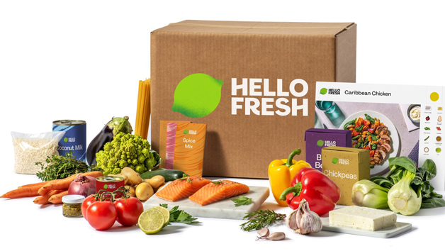 HelloFresh Four Week Meal Kit with Three Meals for Two People