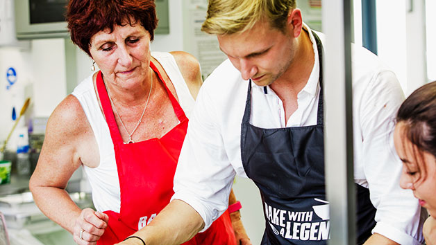 Bake with a Legend Cookery Class in Brighton