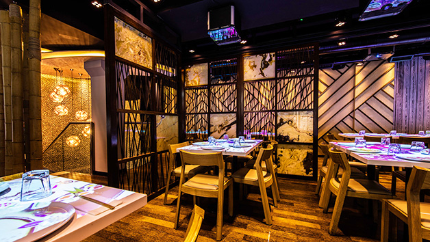 Unlimited Sushi and Asian Tapas with Bottomless Drinks for Two at Inamo