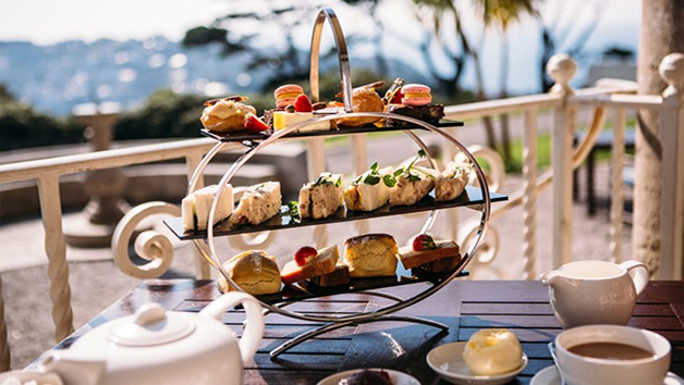 Fowey Hall Sparkling Afternoon Tea for Two