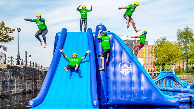 Aquapark Thrill for Two in Liverpool