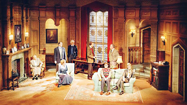 Upper Circle Theatre Show with Two Course Meal for Two