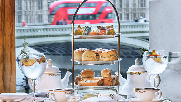 Bottomless Gin and Tonic Afternoon Tea for Two at Gillray's Steakhouse & Bar