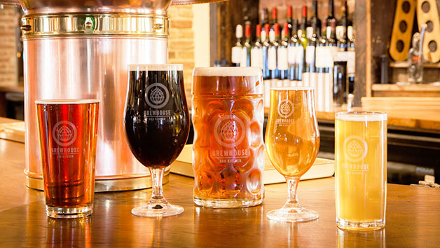 Brewery Day and Beer Tasting at Brewhouse and Kitchen, Cardiff