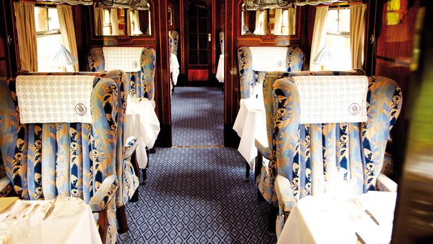 Belmond British Pullman Golden Age of Travel Steam Train Lunch