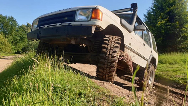 4x4 GPS Team Driving Challenge at Nottingham Off Road Events for Six People