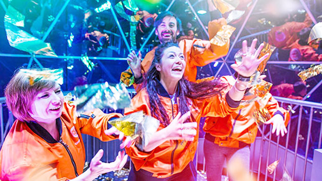 Crystal Maze LIVE Experience for Two with Souvenir Crystal and T-Shirt