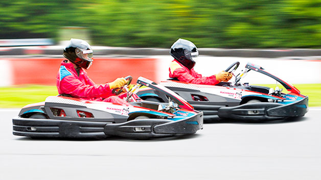 Go Karting at Buckmore Park for One