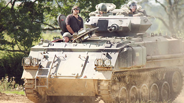 Tank Driving Taster in Leicestershire for Two