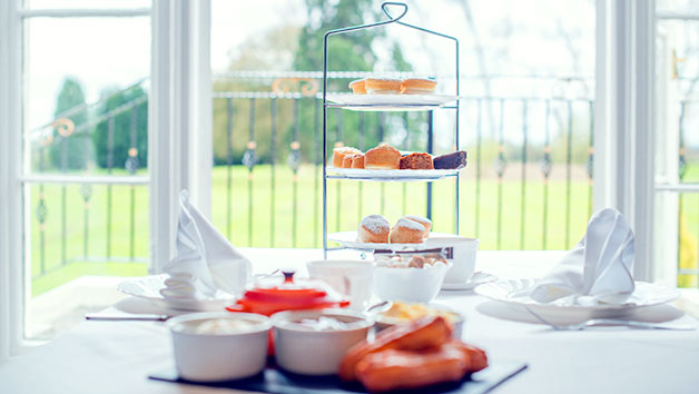 Luxury Afternoon Tea for Two at Haughton Hall Hotel and Leisure Club