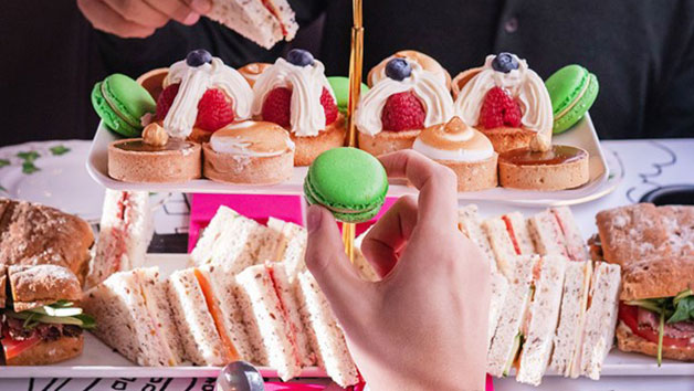 Afternoon Tea for Two at B Bakery London