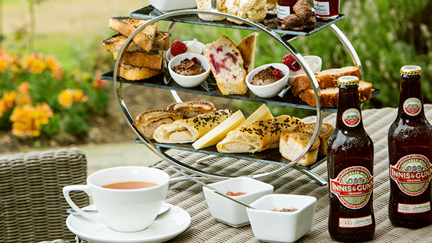 The Gentleman's Afternoon Tea at Dalmahoy Hotel and Country Club for Two People