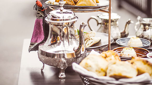 Middle Eastern Afternoon Tea at Mamounia Lounge in Knightsbridge for Two