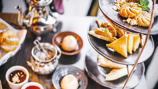 Gin and Tonic Middle Eastern Afternoon Tea at Mamounia Lounge Knightsbridge for Two