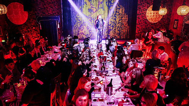 Three Course Meal with Fizz and a Cabaret Show at Proud Brighton