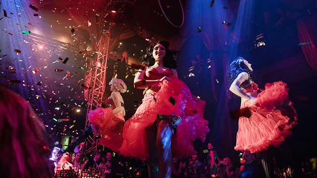 Cabaret Show and Cocktail Each at Proud Embankment for Two