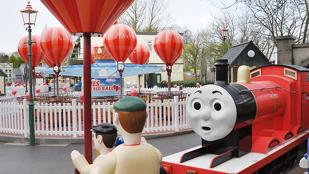 Entry to Drayton Manor Park for Two Adults and Two Children