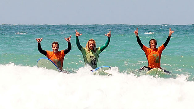 Surf Experience at Big Green Surf School for Two