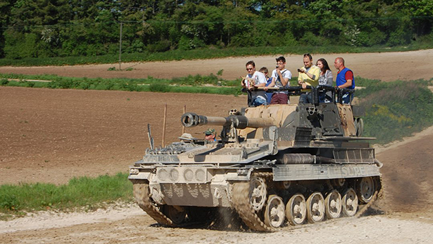Tank Driving Experience for One