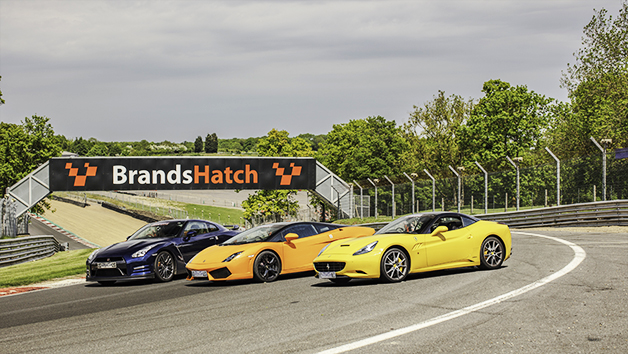 Triple Supercar Thrill at Brands Hatch