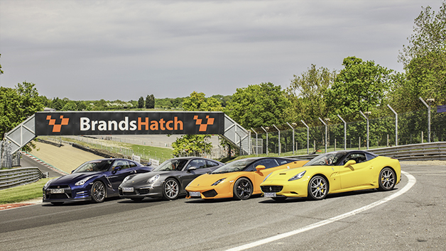 Quadruple Supercar Thrill at Brands Hatch