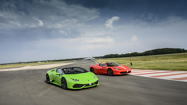 Double Supercar Driving Thrill