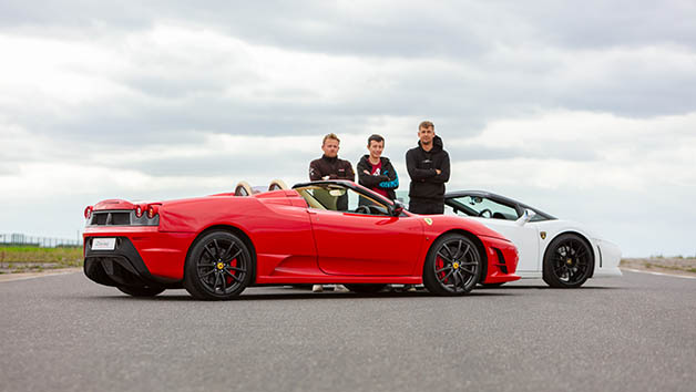 Supercar Driving Experience for Family of Four