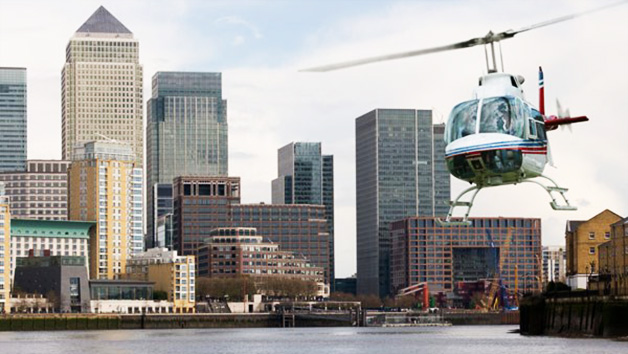 25 Minute Helicopter Ride for One Over London