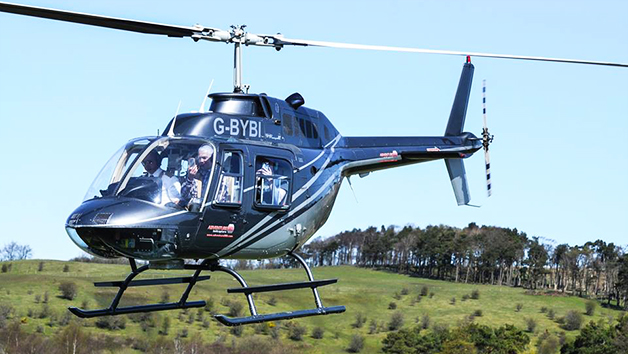 6 Miles Blue Skies Helicopter Tour with Bubbly for One