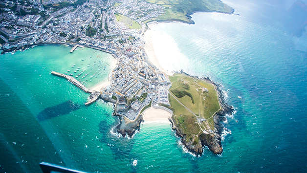 Land, Sea and Air Adventure Experience in Cornwall with Cream Tea for Two
