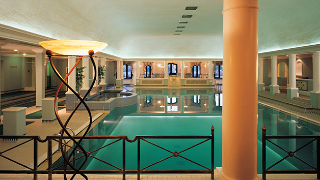 Spa Day with 25 Minute Treatment at Marriott Hanbury Manor Hotel for Two