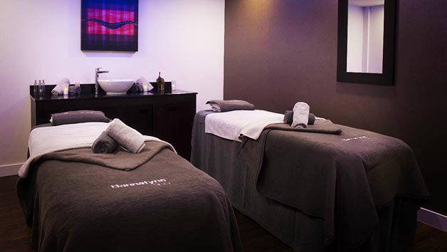 Jingle All The Way Spa Day with 70 Minutes of Treatments for Two at Bannatyne