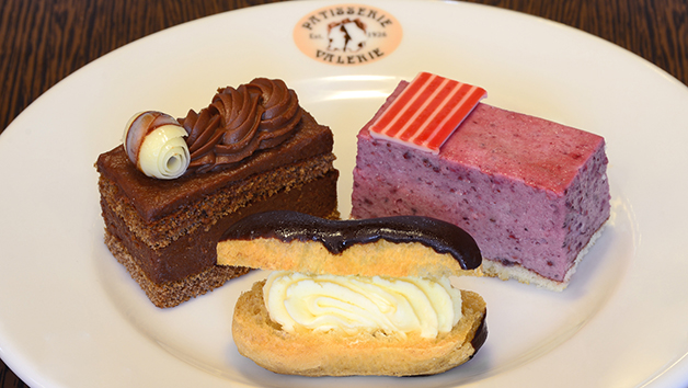 Afternoon Tea with a Cake Gift Voucher for Two at Patisserie Valerie