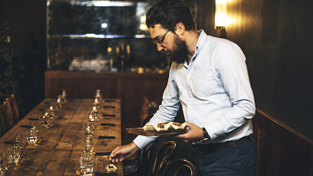 Drams in The Dark Whisky Tasting Experience and Canapes for Two at Mac and Wild