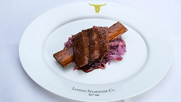Luxury Dining for Two at Marco Pierre White's London Steakhouse Co Restaurant