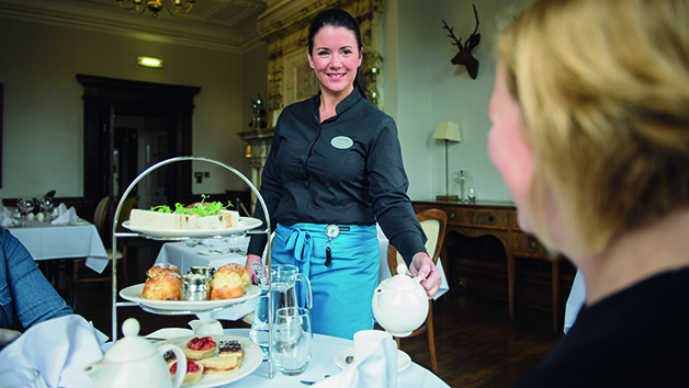 Champagne Afternoon Tea at Nidd Hall Hotel for Two
