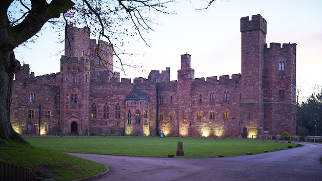 Afternoon Tea with Bubbles at Peckforton Castle for Two